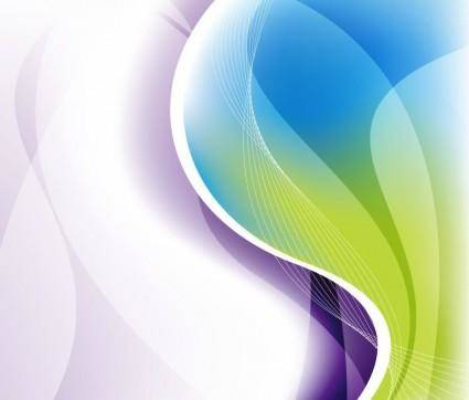 free vector Abstract Waves Background Vector Illustration