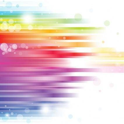free vector Abstract Rainbow Background Vector