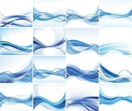 free vector Abstract Vector Background Set