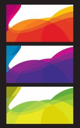 Free Abstract Card Background Vector