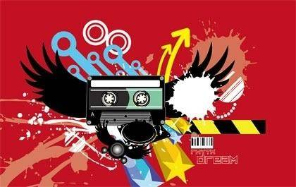 Trend Abstract Vector
