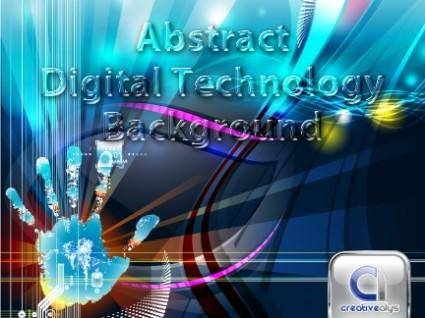 free vector Abstract Digital Technology Vector Background