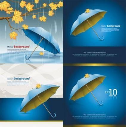 free vector Umbrella vector