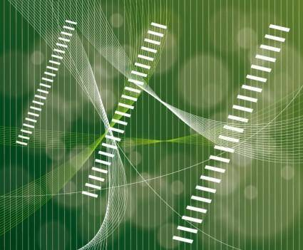 free vector Abstract Green Line Vector Backgrou