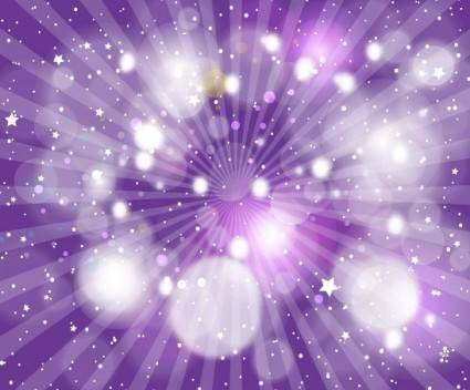 free vector Abstract light Vector Purple Backgr