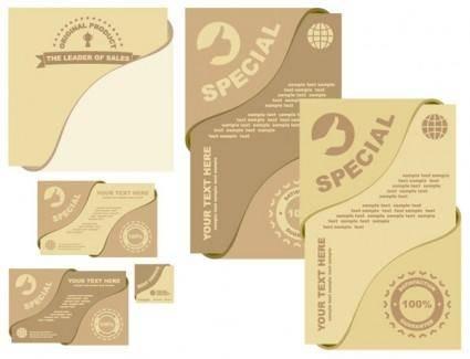 free vector Special card vector