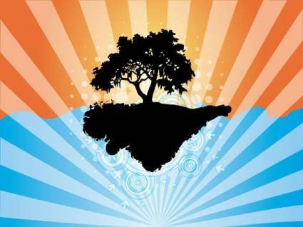 free vector Abstract Tree Vector