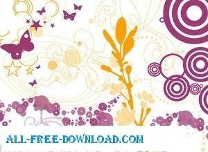 free vector Abstract Ornaments