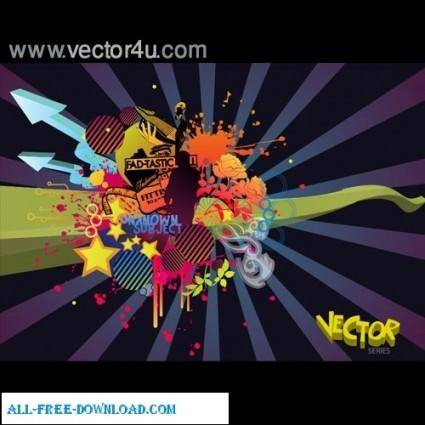 free vector Abstract vector series 1