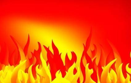 free vector Abstract fire