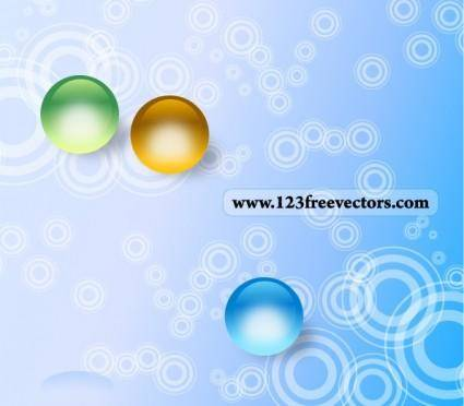 Abstract Circle Background Free Vector