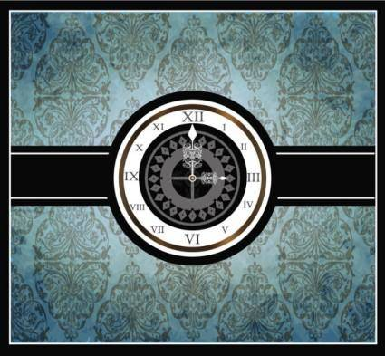 European pattern border 06 vector