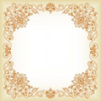 Exquisite pattern border 03 vector