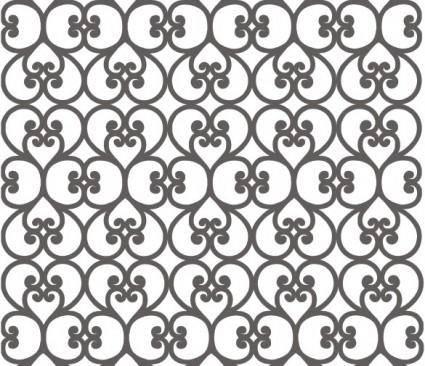 free vector Exquisite pattern vector