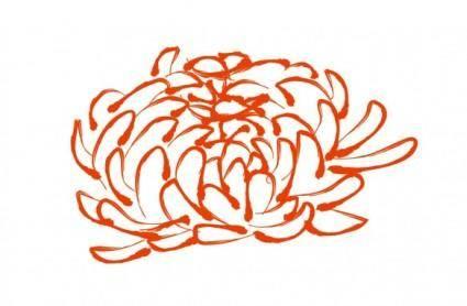 free vector Vector daisy pattern