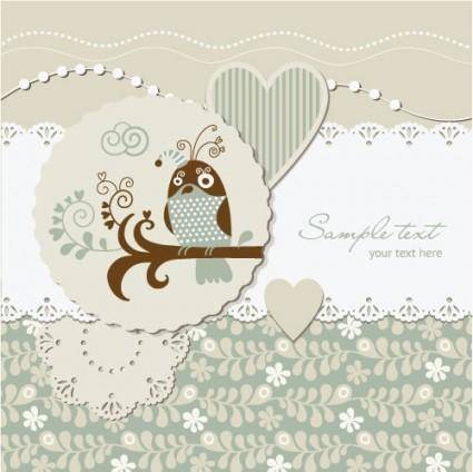 free vector Elegant label design vector