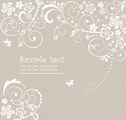 Classic patterns 05 vector