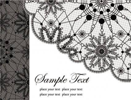 free vector Black and white patterns 03 vector