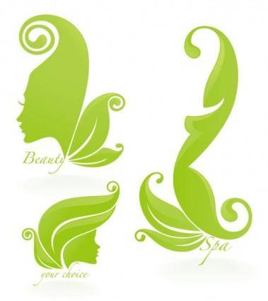 Beautiful silhouette pattern 05 vector
