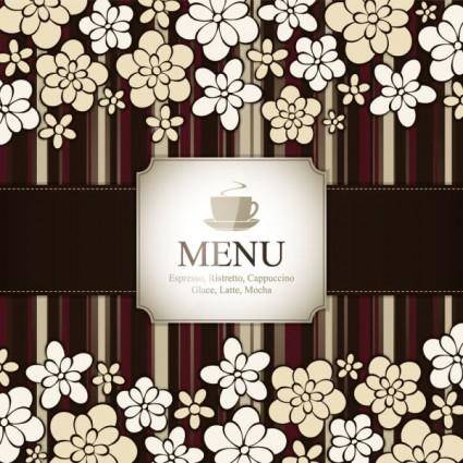free vector Prime pattern menu cover 04 vector