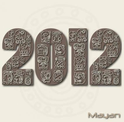 free vector Mayan patterns 04 vector