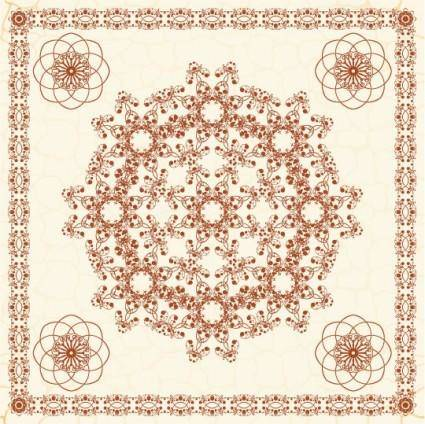 Exquisite european pattern 04 vector