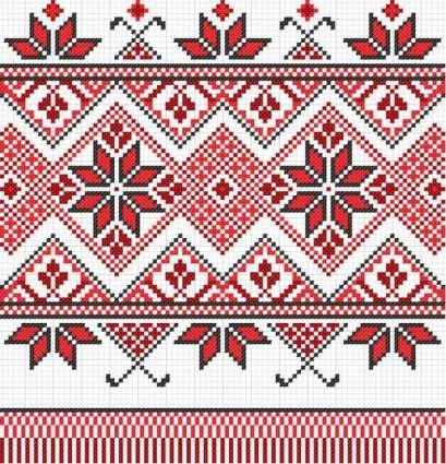 free vector Cross stitch patterns 10 vector