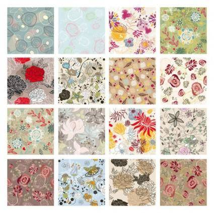 free vector Exquisite patterns 02 vector