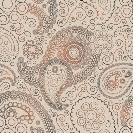 Ham pattern 04 vector