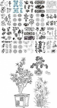 free vector Cdr vector 49 kinds of patterns