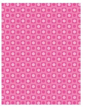free vector Polka dot pattern vector