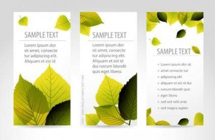 free vector Bookmark beautiful maple 01 vector