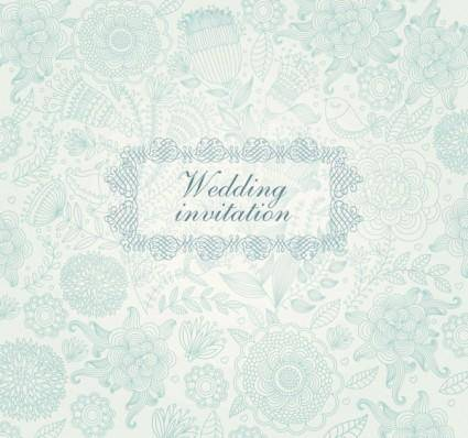 Classical floral pattern 03 vector