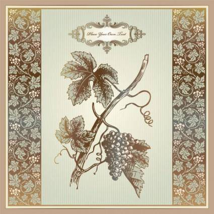 free vector Exquisite europeanstyle pattern label 06 vector