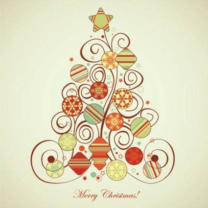 free vector Christmas pattern illustrator 03 vector