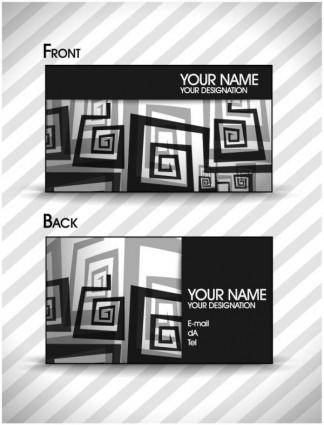 Brilliant dynamic pattern card 05 vector