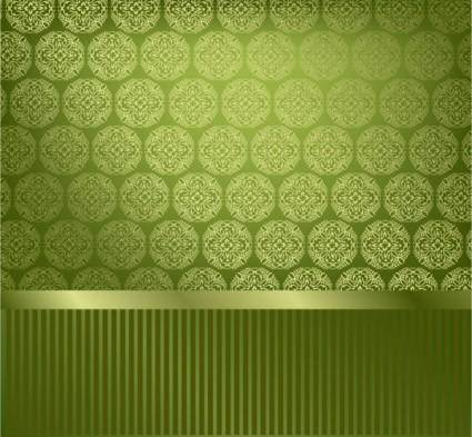 Classic pattern wallpaper 03 vector