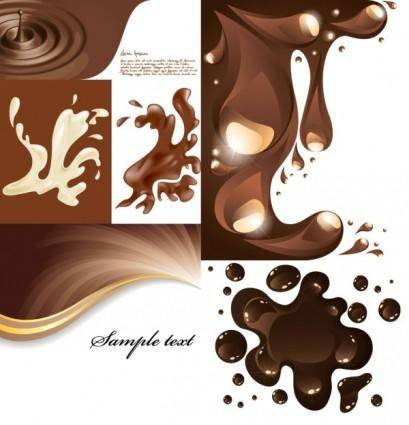 free vector Coffee pattern vector