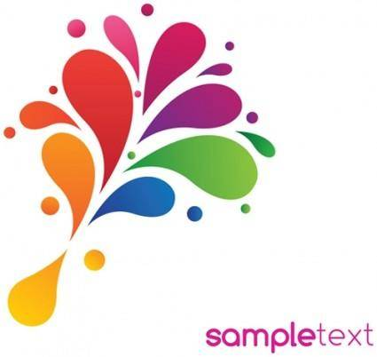 Beautiful color pattern 01 vector