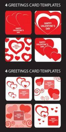 free vector Beautiful heartshaped pattern vector