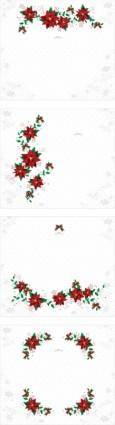 Elegant border pattern vector