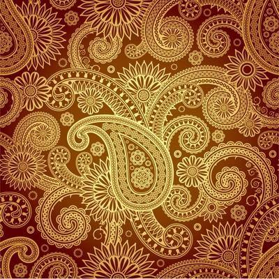free vector Fine classical pattern vector 2