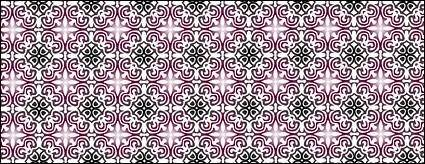 free vector Chinese classical pattern vector 2 tile pattern