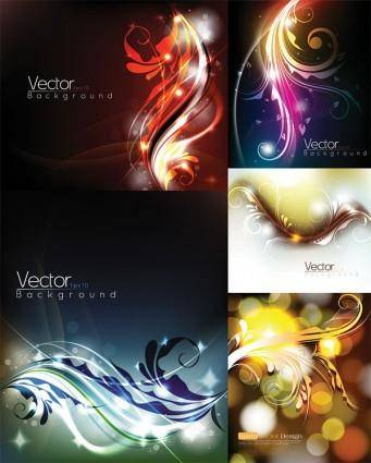 free vector Glare pattern vector dream