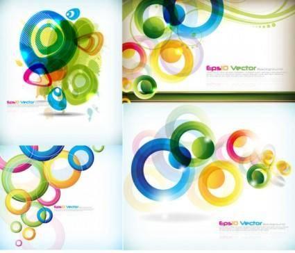 Symphony circular pattern vector