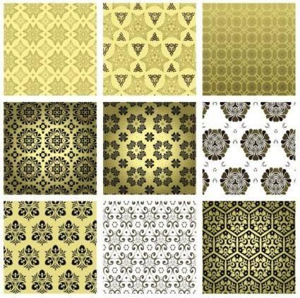 free vector 15 retro pattern wallpaper 02 vector