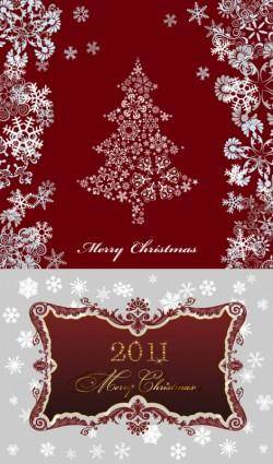 2011 christmas pattern vector