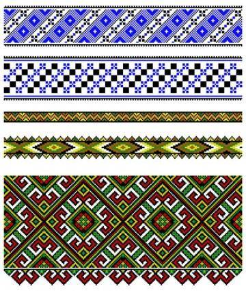 free vector Pixel pattern vector