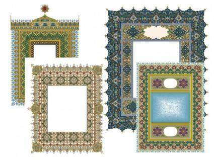 4 beautiful classical pattern lace 2