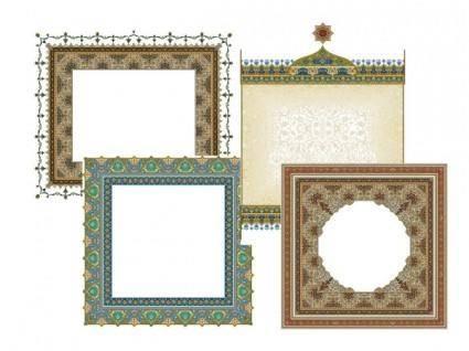 4 beautiful classical pattern lace 5